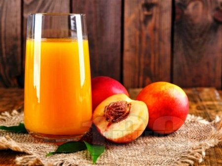 Нектар / сок / сироп от праскови в бутилки - снимка на рецептата